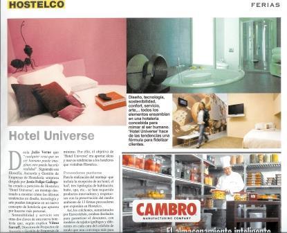 Hotel Universe_Hostelco 2008