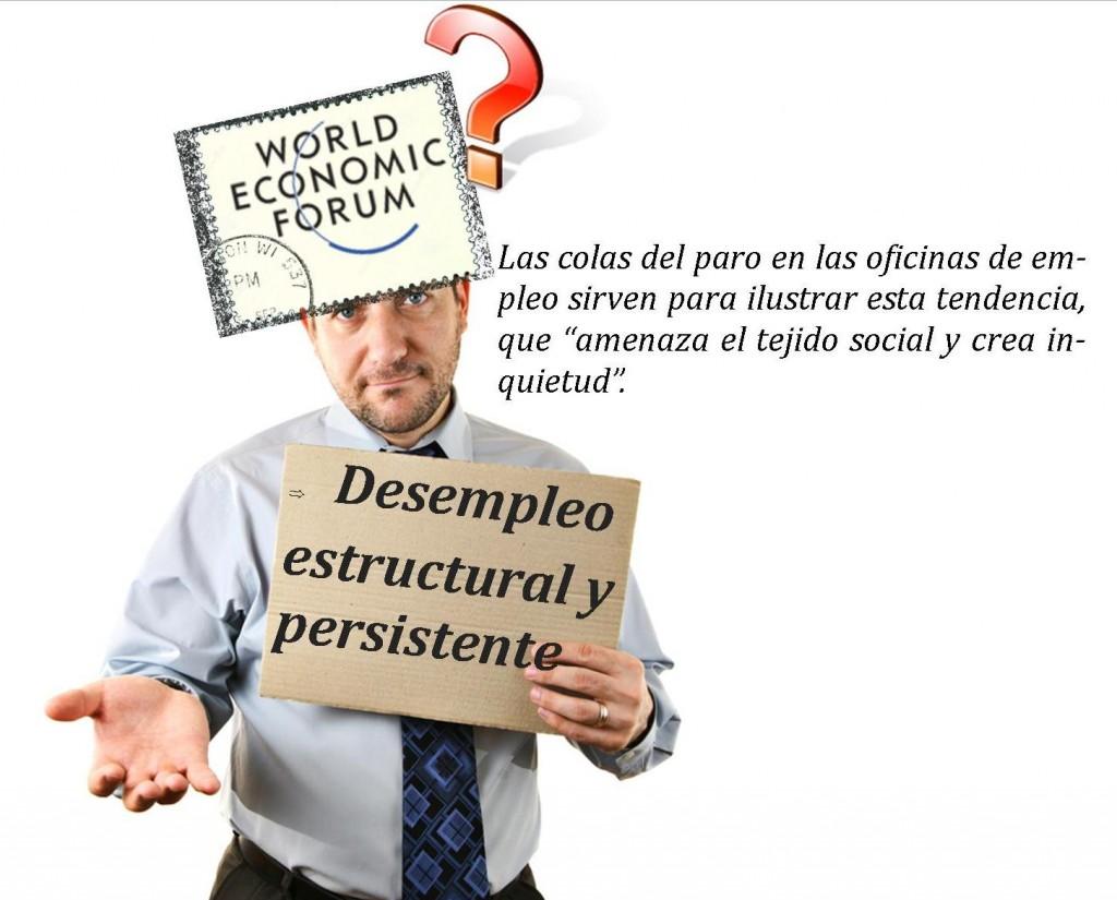 Desempleo estructural y persistente