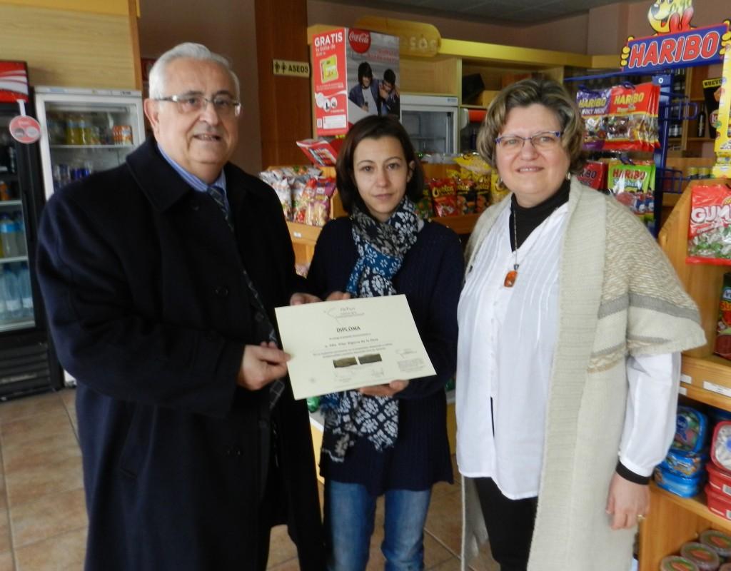 Diploma Reconocimiento a la Hospitalidad