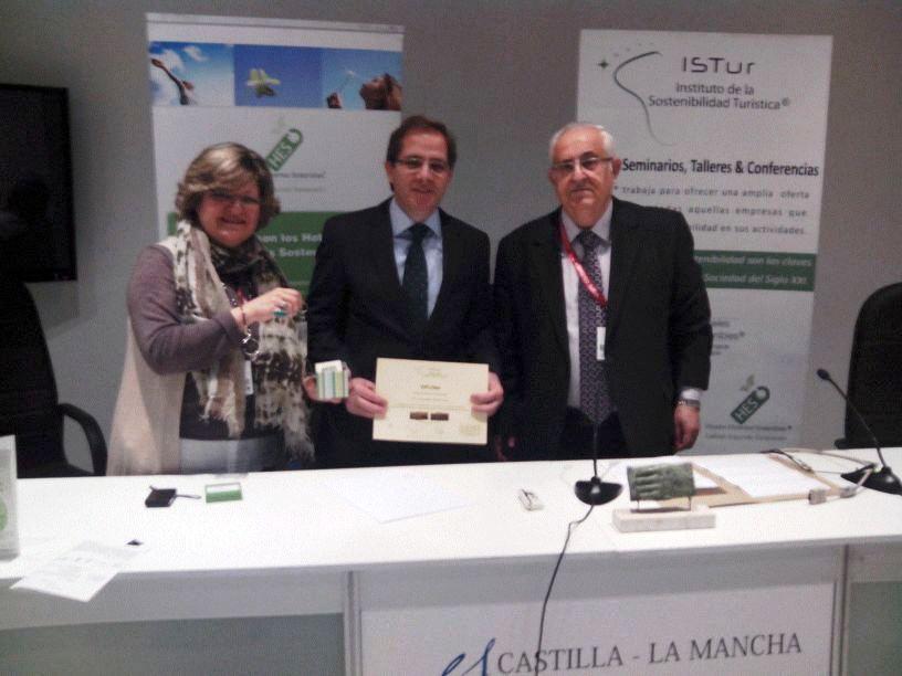 Fernando LLeida. Premio a la Hospitalidad