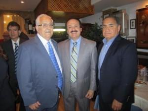 Honorable José Guillermo Rodríguez,  Alameda PH.D. PPL, Economista y Planificador, Jesús Felipe Gallego, Presidente Grupo ISTur