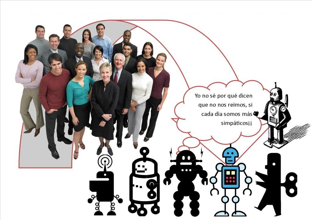 de hombre a robots