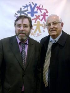 José María Martínez presidente de la Asociación Roosevelt y Jesús Felipe Gallego, presidente Grupo ISTur