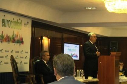 Ilmo Sr. D. Nuno Mocinha, Alcalde de Elvas (Portugal)