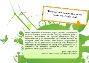 Turismo con Alma. Jesús Felipe Gallego