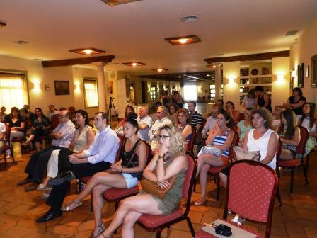 Invitados al acto de presentación del libro «Hoteles y Restaurantes Sostenibles: Caminando hacia el 2030»