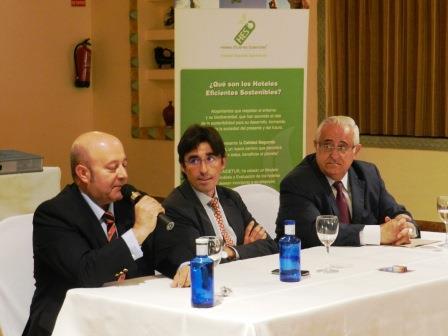 Manuel Cantarero, Carlos Romero y Jesús Felipe Gallego