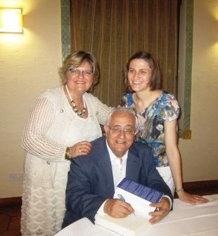 María Goreti Pérez, Vilma Sarraff y Jesús Felipe Gallego