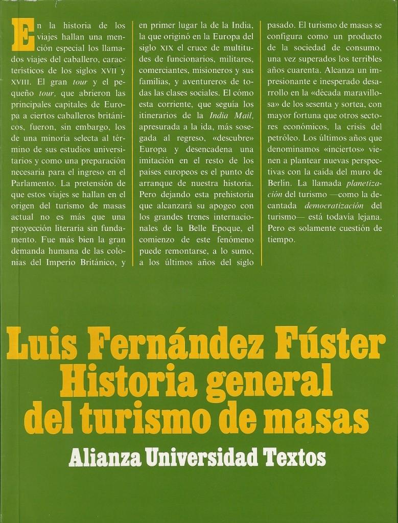Historia general del turismo de masas