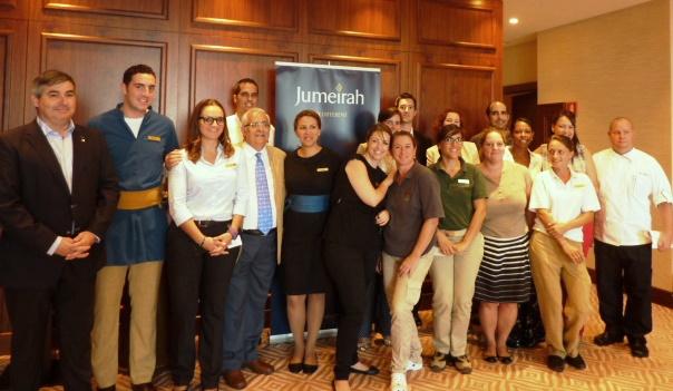Equipo de profesionales del Jumeirah Port Soller Hotel & Spa