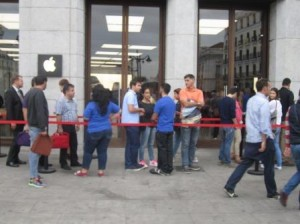 Apple Store, Puerta del Sol. Madrid