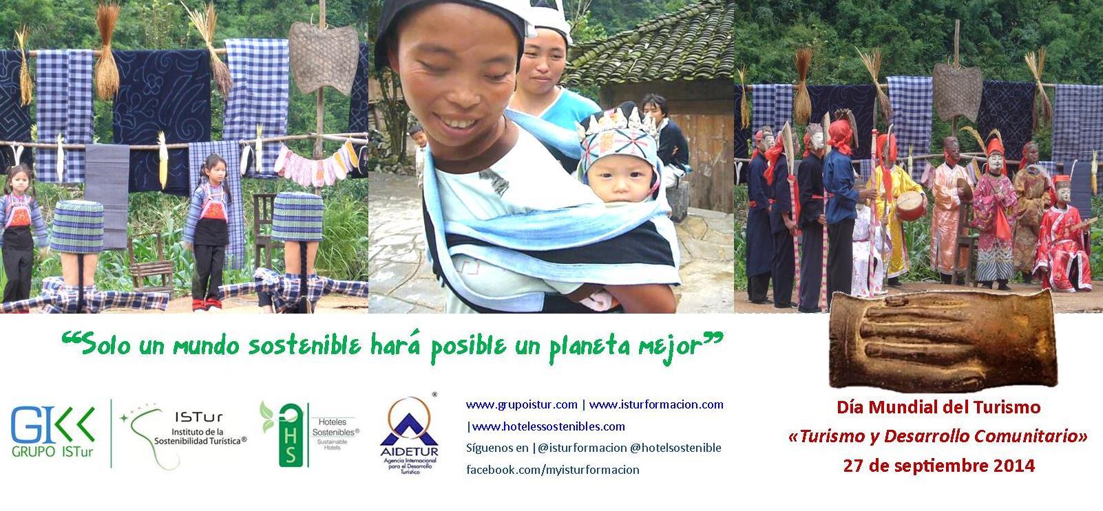 Día Mundial del Turismo «Turismo y Desarrollo Comunitario»