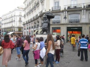 El Oso y el Madroño, Puerta del Sol. Madrid