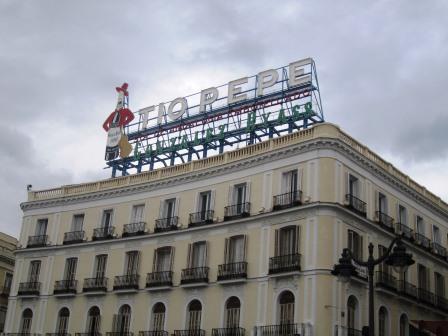 Septiembre 2014 isturformacion for Tio pepe puerta del sol madrid