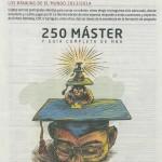 Décima edición del Ranking del periódico El Mundo 2013-2014. 250 Máster en España