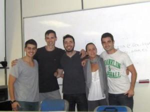 Equipo 1: Mario Alonso Pérez, Carlos Amelivia Días, Raquel Cebolla León, Mario Collado Torrijos y Carlos Donoso Díez
