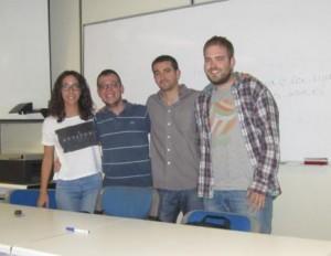 Equipo 4: Joaquín López García, Rodrigo López Martínez, Cristina Luque García y David Antonio Martín Moreno