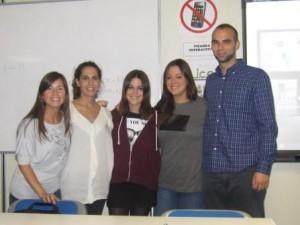 Equipo 5: María Muñoz Aguado, Lucía Muñoz Montes,  Luisca Karolina Pérez López y Borja Pino Becerra Cristina Pintor Balsa