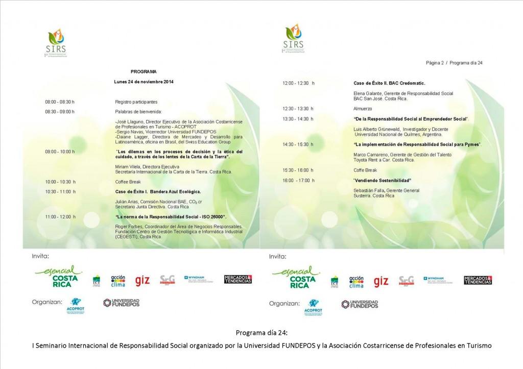 Programa día 24