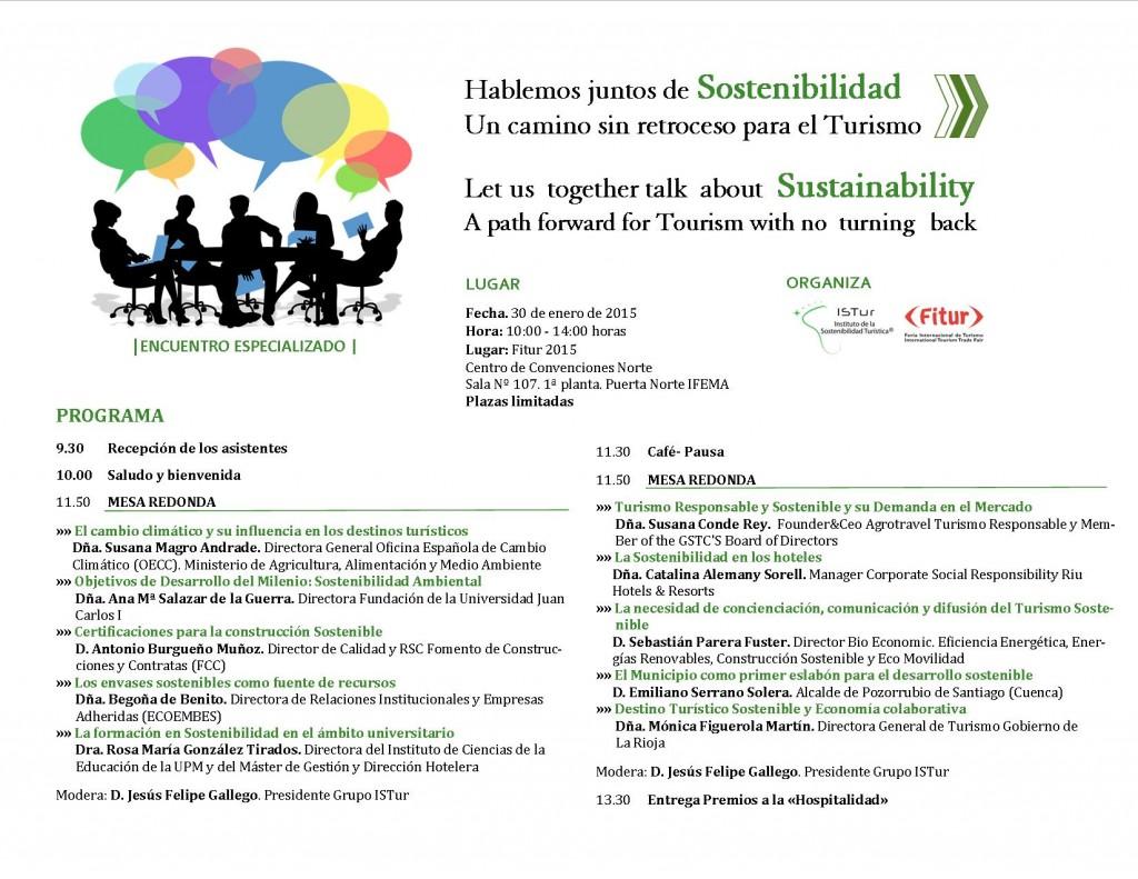 Jornada Hablemos juntos de Sostenibilidad. Un camnio sin retroceso