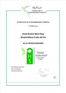 Diplomas Hotel Sostenible_RIVIERA_