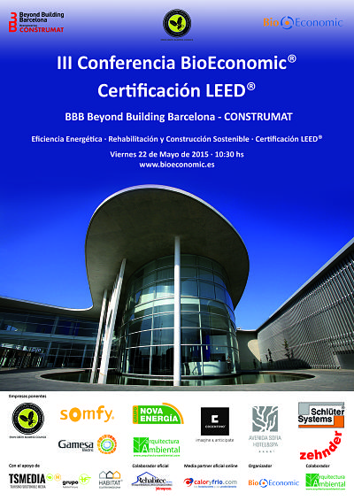 Cartel III Conferencia BioE® LEED® BBB - CONSTRUMAT 2015_opt