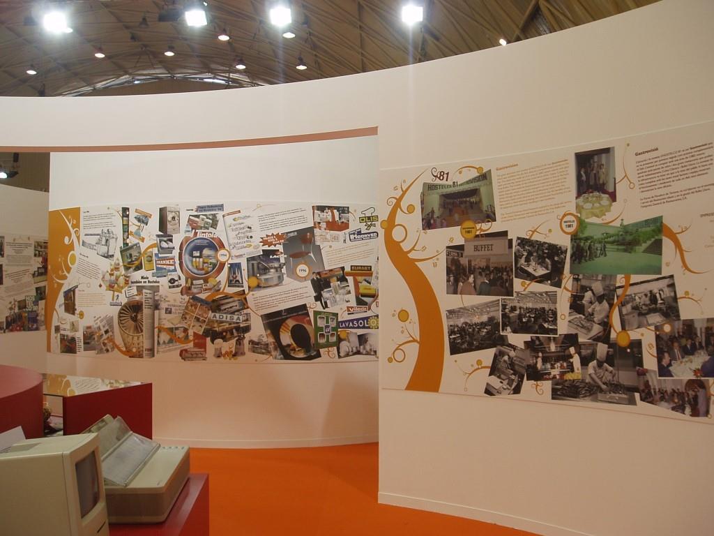 exposición «HOSTELCO: 25 AÑOS HACIENDO HISTORIA» presentada en HOSTELCO 2006