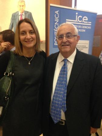 Catalina Alemany Sorell, Manager Corporate Social Responsibility de Hotels & Resort y Jesús Felipe Gallego