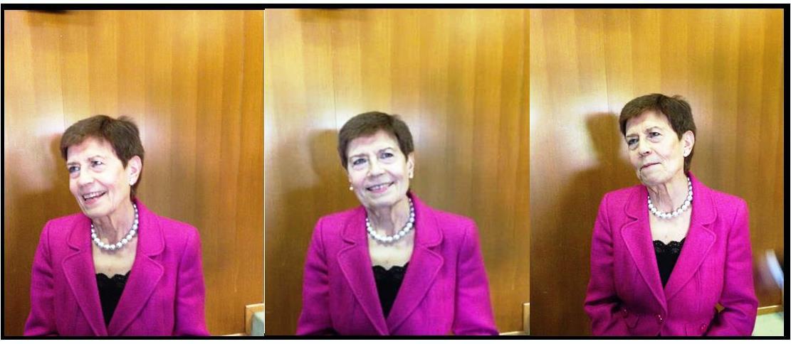Dra. Rosa María González Tirados, profesora Emérita de la UPM